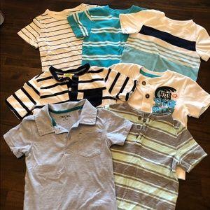 Bundle of 7 Toddler boys short sleeve Tees 24mo/2T